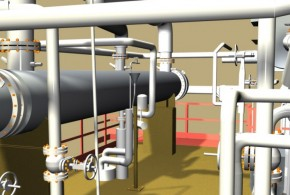 Refinery As-Built CAD Model